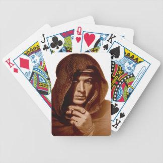 Rudolph Valentino: The Sheik Bicycle Poker Deck