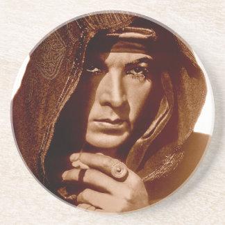 Rudolph Valentino: The Sheik Beverage Coaster