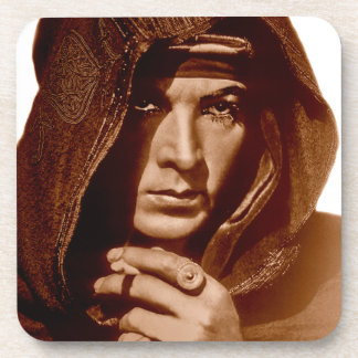 Rudolph Valentino: The Sheik Drink Coasters