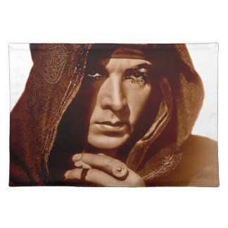 Rudolph Valentino: The Sheik Placemat