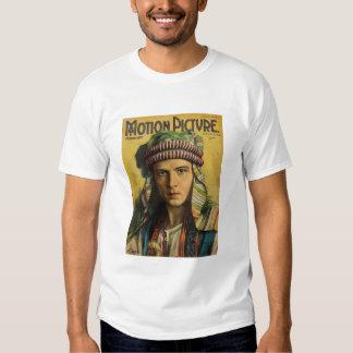 Rudolph Valentino Vintage 1922 Film Magazine Shirt