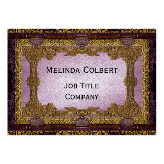 Rudolphs Muse Parlor Victorian Business Card Template