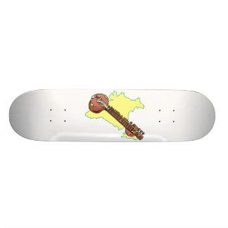 Rudra Vina India Stringed Instrument Skateboard Decks