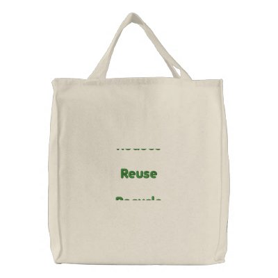Ruduce ReuseRecycle Canvas Bags