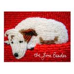 Rudy - Beaded Jack Russell Terrier Postcards