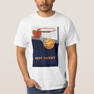 Rudy Hackett Basketball T-Shirt