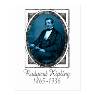 Rudyard Kipling Postcard