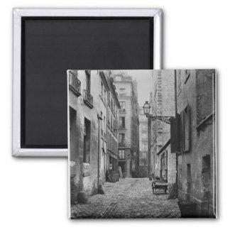 Rue Basse des Ursins, Paris, 1858-78 Square Magnet