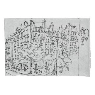 Rue de Conde | Jardin du Luxembourg, Paris Pillowcase