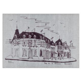 Rue De D. Nicholas   Concarneau, Finistere Cutting Board