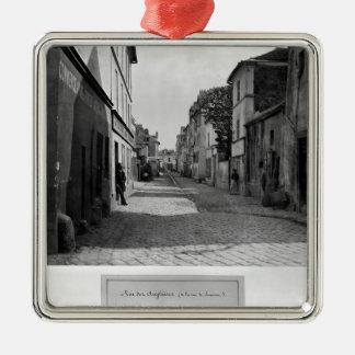 Rue des Anglaises, from rue de Lourcine, Paris Christmas Ornament