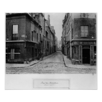 Rue des Bernardins Poster