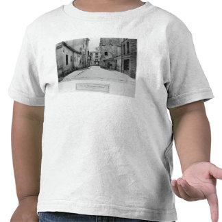 Rue des Marmousets Saint-Marcel T Shirts