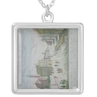 Rue des Recolets, Quebec Silver Plated Necklace