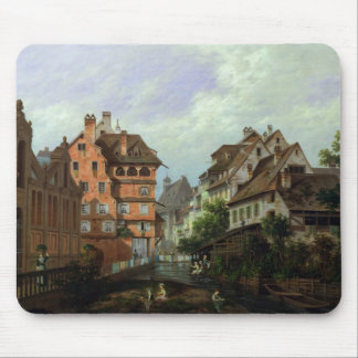 Rue des Tanneurs, Colmar, 1875 Mouse Mat