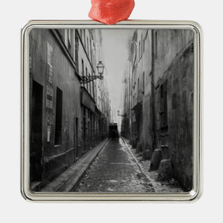 Rue des Vertus, from rue Phelippeaux, Paris Christmas Ornament