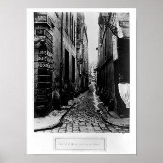 Rue du Croissant Poster