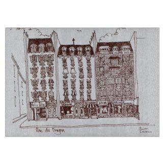 Rue du Dragon, Saint-Germain-des-Pres, Paris Cutting Board