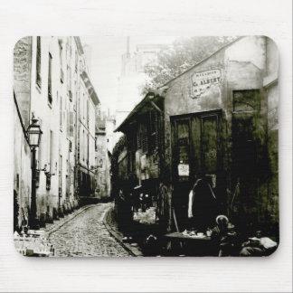 Rue du Jardinet and the cul-de-sac Mouse Mat