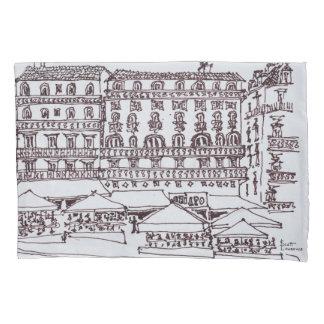 rue Garrett, Chiado | Lisbon, Portugal Pillowcase