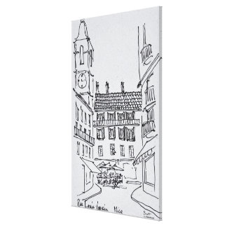 Rue Louis Gassin, Old Nice | Nice, France Canvas Print