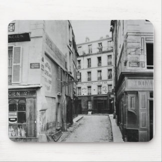 Rue Maitre Albert  Paris, 1858-78 Mouse Mat