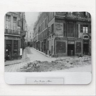Rue Maitre Albert  Paris, 1858-78 Mouse Mat