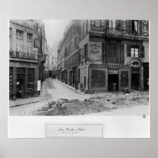 Rue Maitre Albert  Paris, 1858-78 Poster