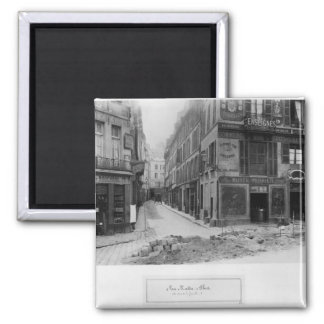 Rue Maitre Albert  Paris, 1858-78 Square Magnet