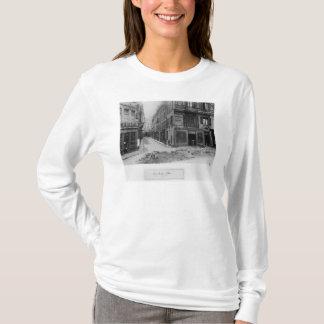 Rue Maitre Albert  Paris, 1858-78 T-Shirt
