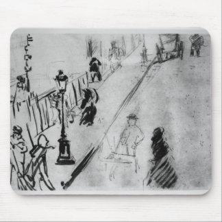 Rue Mosnier, c.1878 Mouse Pad