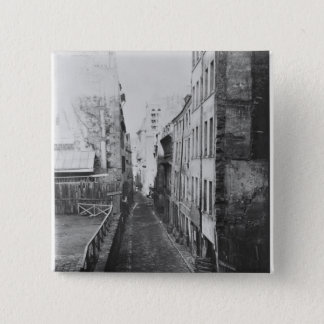 Rue Saint-Nicolas-du-Chardonnet 15 Cm Square Badge