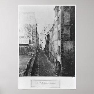 Rue Saint-Nicolas-du-Chardonnet Poster