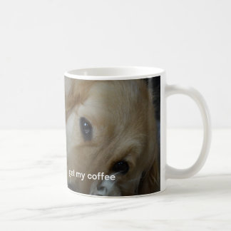 Ruff morning coffee cup basic white mug
