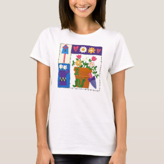 Ruff Patch Garden Design T-Shirt