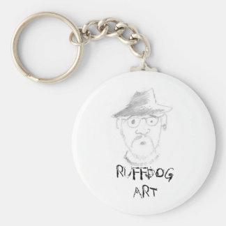 Ruffdog, RUFFDOG ART Key Ring