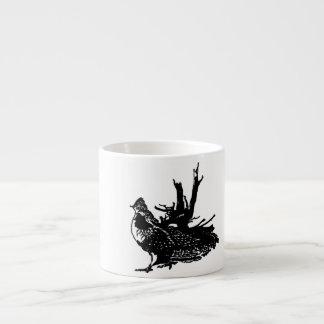Ruffed Grouse Espresso Mug