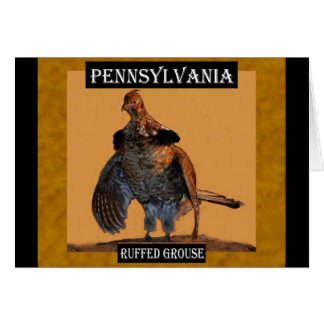 Ruffed Grouse (Pennsylvania) Card