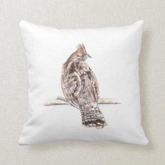 Ruffed Grouse Pillow Cushion