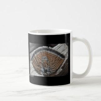 Ruffed Grouse Tail Basic White Mug