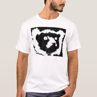 Ruffed Lemur simple T-Shirt