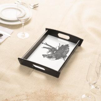 Ruffled Grouse Serving Platter
