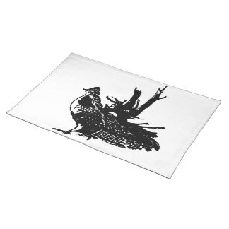 Ruffled Grouse Place Mats