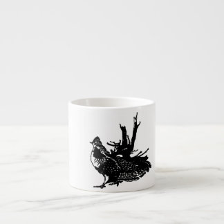 Ruffled Grouse Espresso Cups