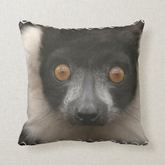 Ruffled Lemur Pillow