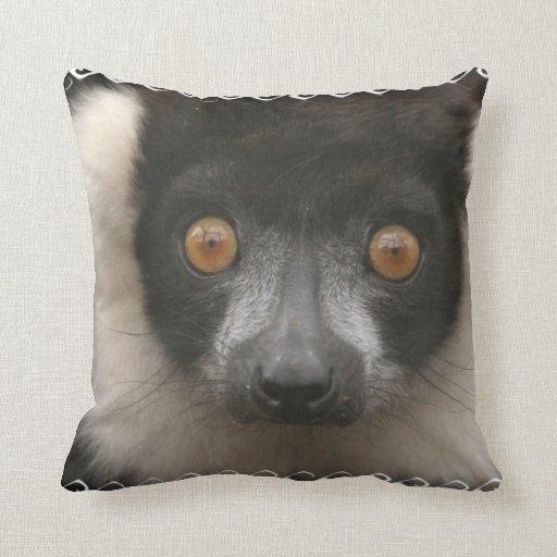 Ruffled Lemur Pillow