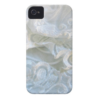 Ruffled White Lace iPhone 4 Cases