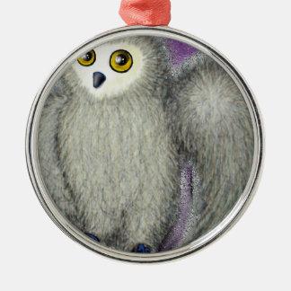 Ruffles the Owl Christmas Ornament