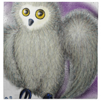 Ruffles the Owl Napkin