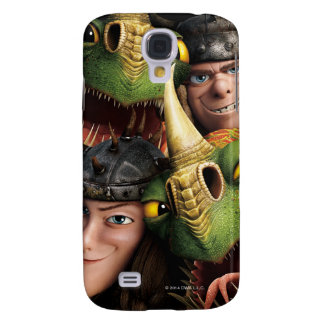 Ruffnut, Tuffnut & Belch, Barf Galaxy S4 Case
